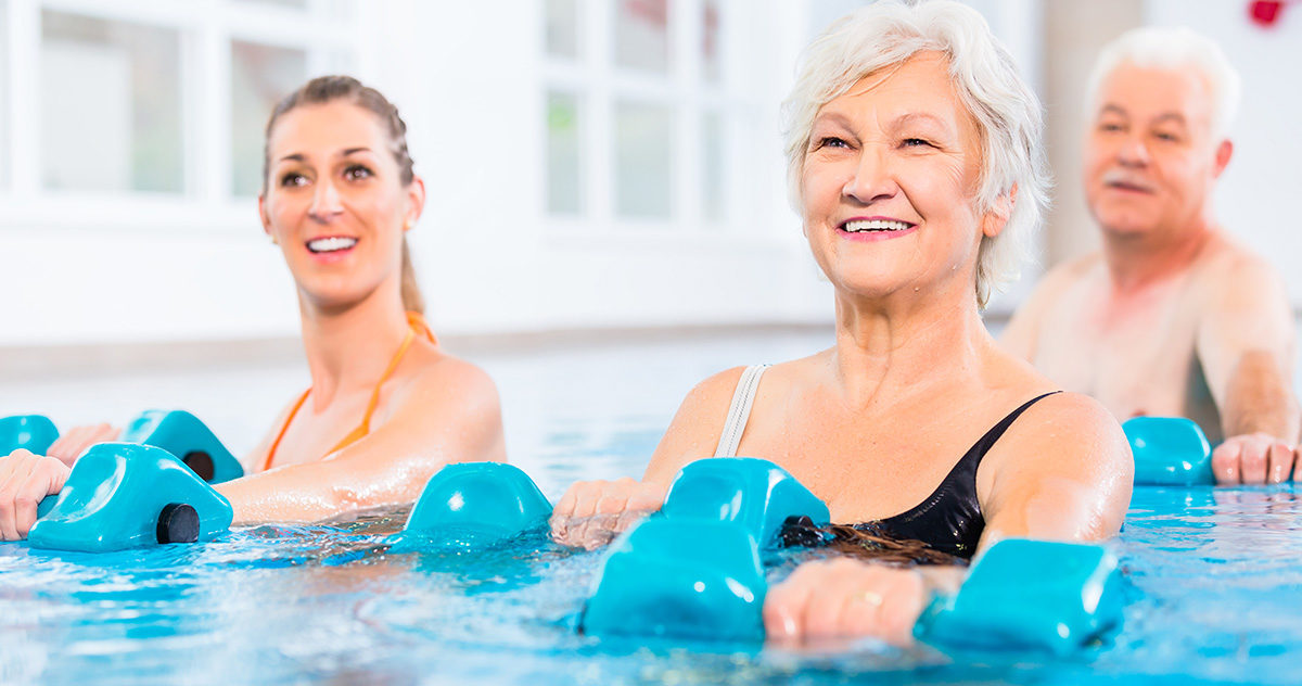 Gilbert Massage Pool Offers Fitness and Relief for Older Adults