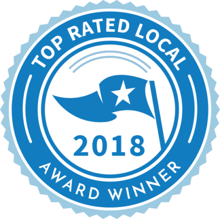 Top Rated Local Award Winner 2018