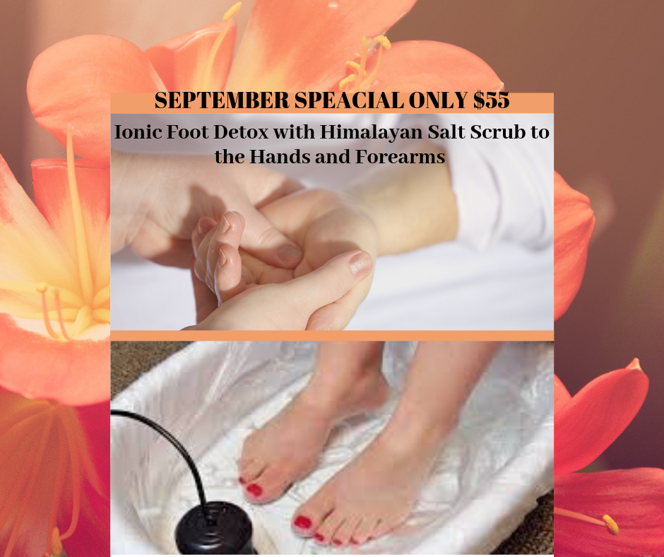 Himalayan Salt Scrub for Hands and Ionic Foot Detox